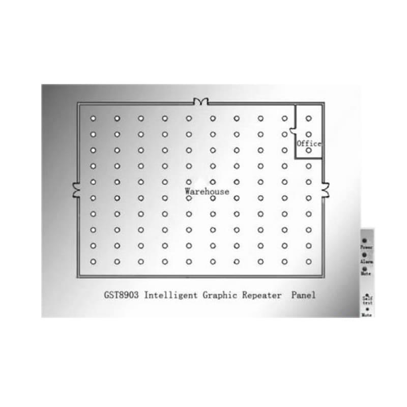 Bảng hiển thị đồ họa thông minh GST8903-A1