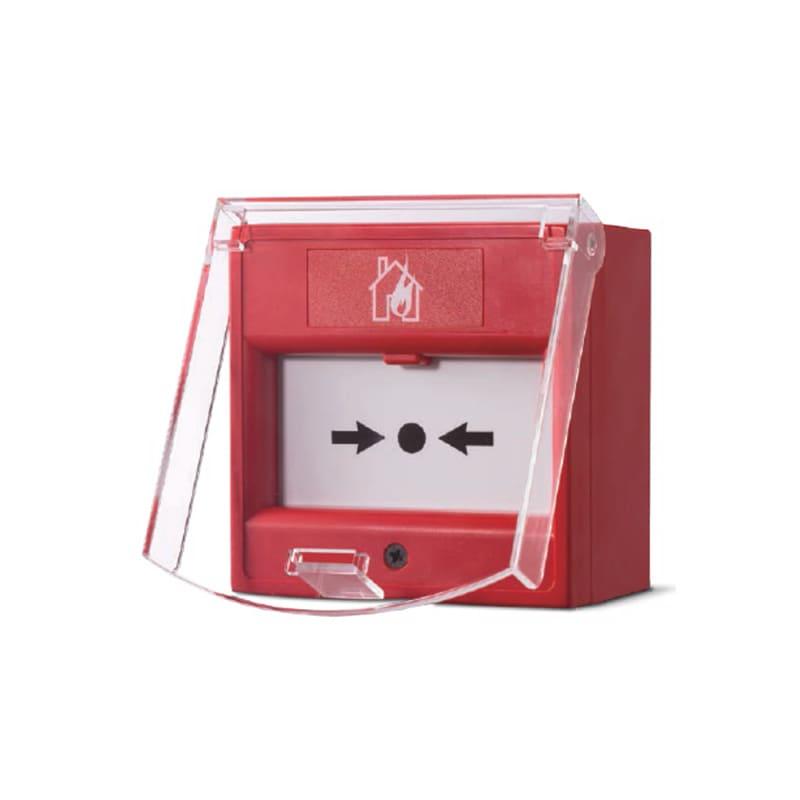 Nắp đậy bảo vệ nút nhấn báo cháy địa chỉ GST D-92FC