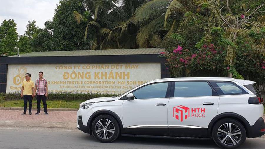HTH cung cấp thiết bị PCCC cho xưởng may Đông Khánh – Long An